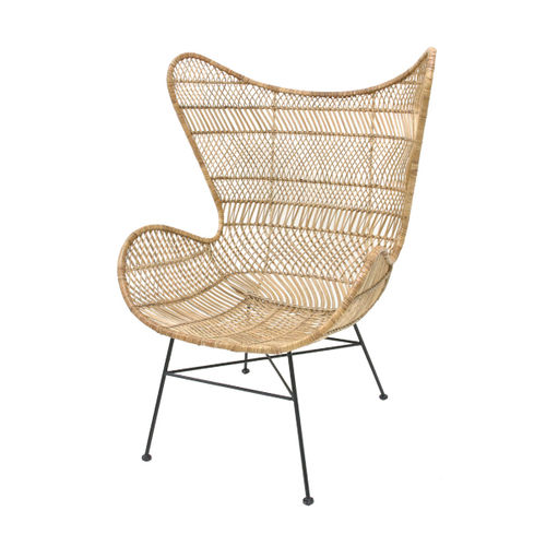 HKliving - Rattan Egg Chair Bohemian