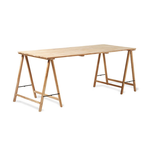 HKliving - Teak Trestle Table