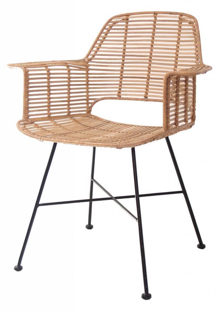 HK Living Rattan Tub Chair günstig kaufen |