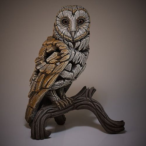 Edge Sculpture - Barn Owl Skulptur