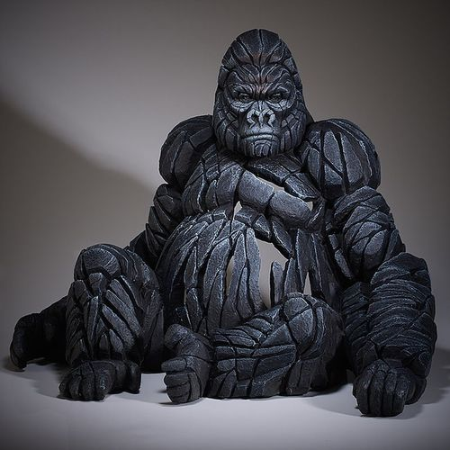 Edge Sculpture - Gorilla Skulptur