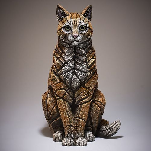Edge Sculpture - Cat Skulptur