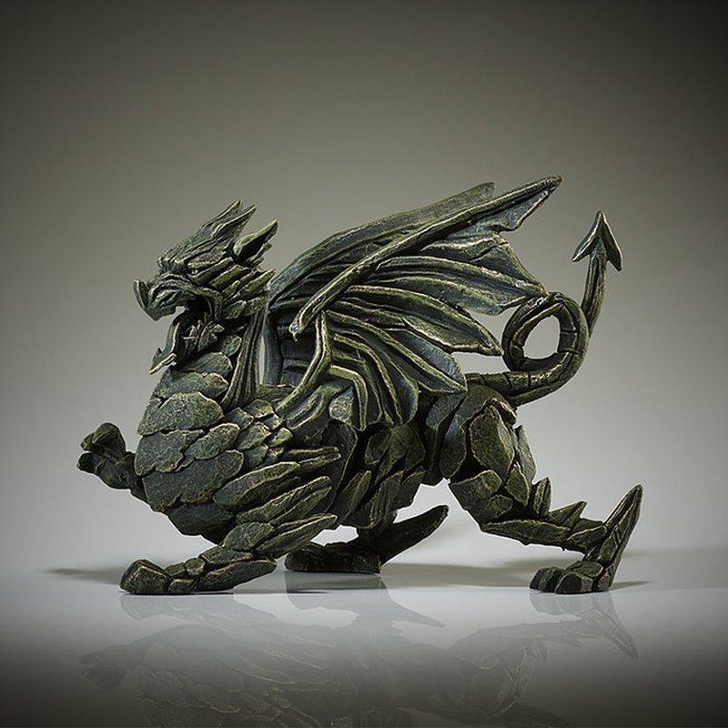 Drachen Skulptur