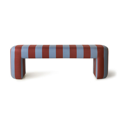 Hkliving - Lobby Bench Striped Gestreifte Bank