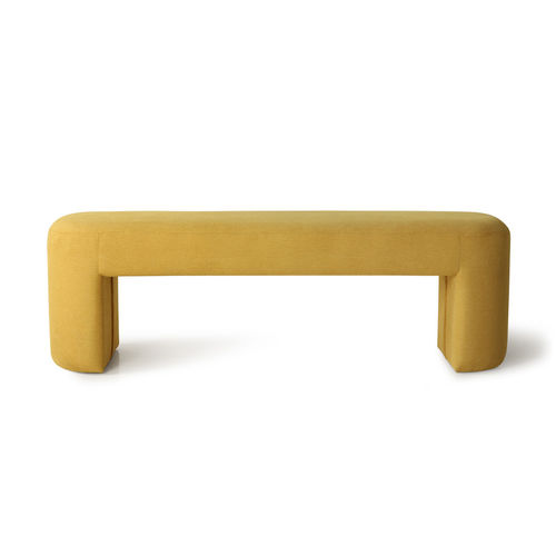 HKliving - Lobby Bench Bank Ocker