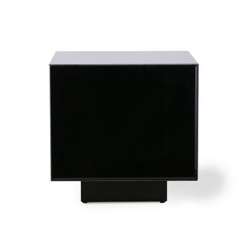 Hkliving - Mirror Block Table Tisch Schwarz
