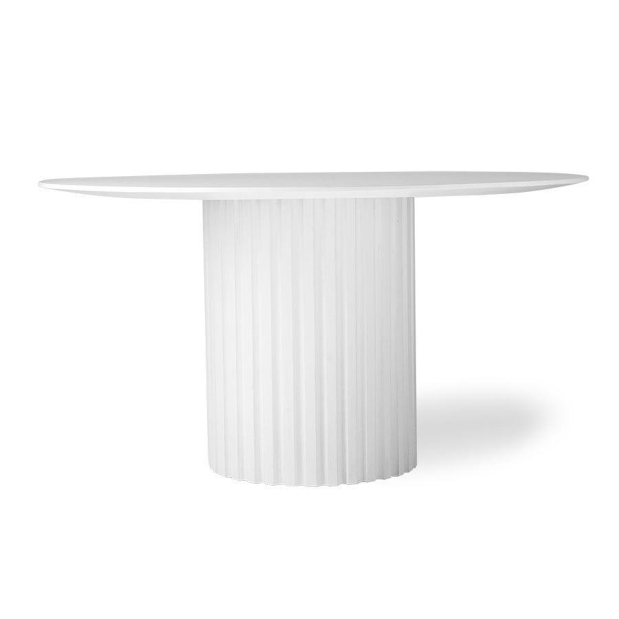 Hkliving Pillar Dining Round Esstisch mit Säule