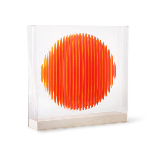 HKliving - Orange Circle Art Frame