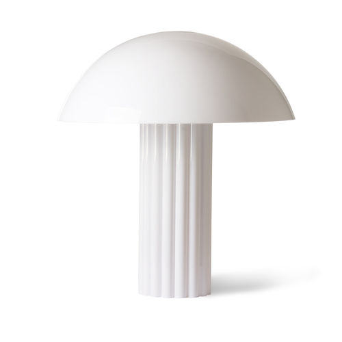 HKliving - Acrylic Cupola Tischlampe