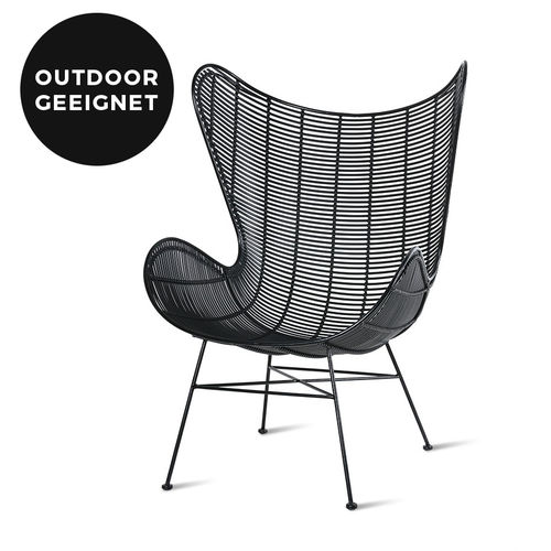 HKliving - Outdoor Egg Chair Sessel