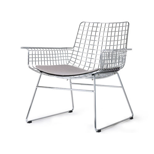 HKliving - Metal Wire Loungesessel